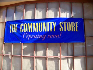 The Community Store Opening Soon